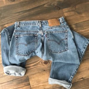 Vintage Levi's 550 Relax Fit Tapered Leg Fit Sz 8